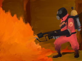 The pyro by ThroneGames