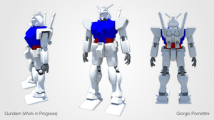 Gundam (WIP) by MightyDargor