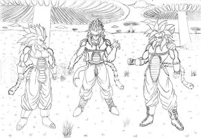 Super Saiyajin 4 by Crakower
