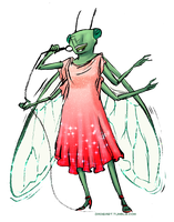 30 Day Monster Girl Challenge: Bug Girl by Jadiekins