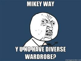 ...Mikey Way...Y U No... by Echidna-kid