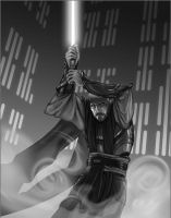 Jedi value study by DavidVargo