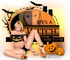 Life's A Witch by biene239