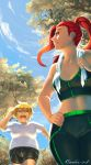 Undertale (Human AU) - Jogging with the Bae by Bambz-Art