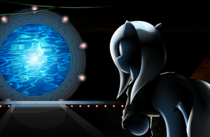 Trixie Lulamoon and the Stargate by Arby-Works