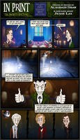 In Print, Guest Strip: Infinity Doctors 4 by AHiLdesigns
