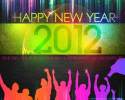 Happy New Year 2012 by lechham