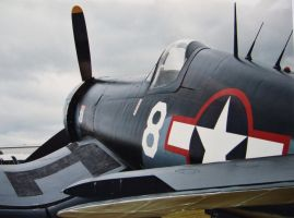 f4u corsair rear veiw by Sceptre63