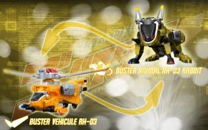 Buster Vehicule RH-03 Rabbit by blakehunter