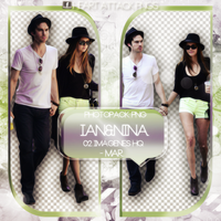 +Photopack png de Ian y Nina. by MarEditions1