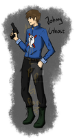 Johnny Ghost by TheSilverPie