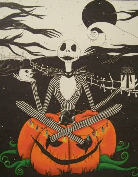 Pumpkin King by prismadragonfly