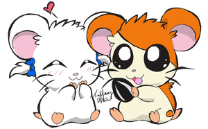 Hamtaro by Crystalhedgie