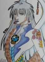 Yue in Amano Style by LadyNin-Chan