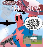 Captain 'MURICA by ProjectCornDog