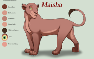 Contest Entry ~Maisha by EyesInTheDark666