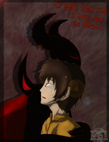 -I Hate You, Tim  (Masky x ZALGO) by Sapphiresenthiss