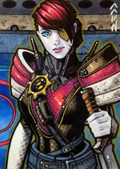 Petra Venj - Destiny Sketch Card by J-Redd