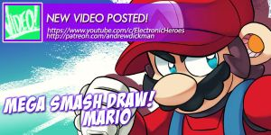 YouTube - Mega Smash Draw Challenge - Mario by AndrewDickman