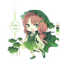 [CLOSED] Adopt auction - lotus leaf by mi-nt