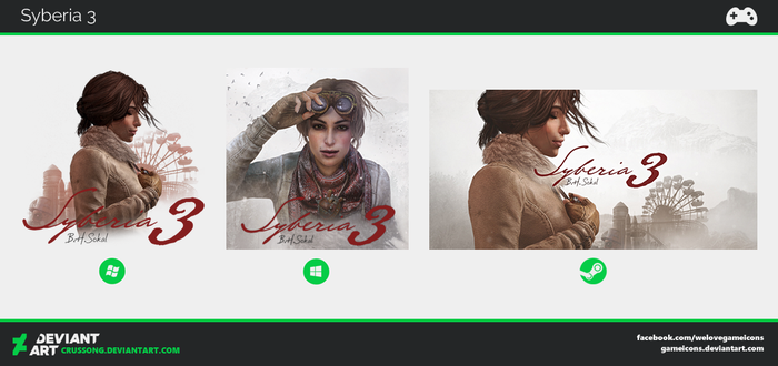 Syberia 3 - Icon by Crussong