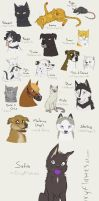 DRAW ALL THE PETS by Envykarp