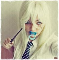 Slytherin girl - pacifier by Esarina