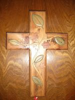 Intarsia Cross by Sawdust013