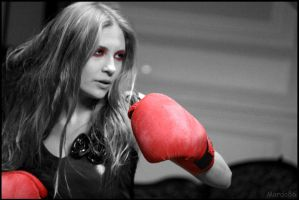 Boxing Lady by Morda86