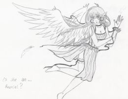 Is she an Avariel? by aque-mizuhara