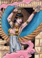 Isis - Classic Mythology by tonyperna