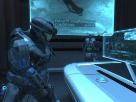 Halo: Reach - Tech Room by pizzagrenade