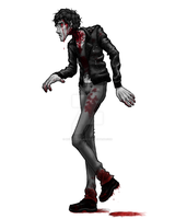DeviantDead Zombie Walk - Coop by myoneandonly