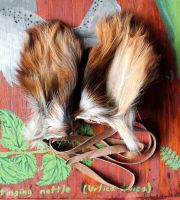 Wearable cow ears for sale! by lupagreenwolf