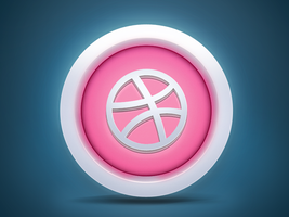 Dribbble Icon by Arslan-Ali-Khaskheli