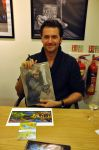 Mr. Richard Armitage with my art by vigshane