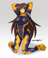 Yui Takamura - Muv-Luv by somegu