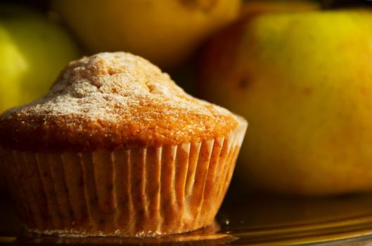 Apple muffins with cinnamon and honey VIII by faithkata