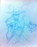 Scarecrow pencil by ScottCohn