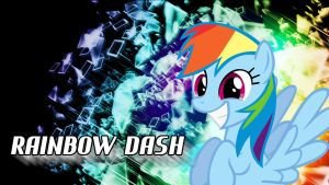 RainbowDash Explosion Wallpaper by ALoopyDuck