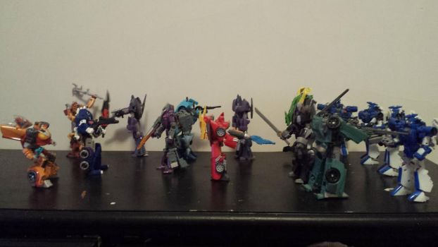 Battle of the 86 Transformers by ShadowApook