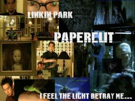 Linkin Park Papercut Wallpaper by DiamondLadyRose