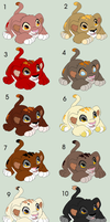 TLK Cub Adopts - O P E N - by Panda-Adoptable