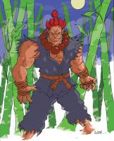 GA-HQ Challenge #2: Villains - Akuma by Marvin000