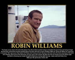 Robin Williams Motivator by MrAngryDog