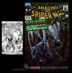 Amazing Spider-Man 6 GA remake cover by TheCreationist