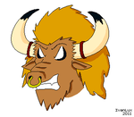 Angry Tauren by IvanLux