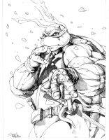 More Raph  Table Yellow 7 :) Megacon by SlimJive