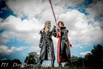 Sephiroth and Genesis, Crisis Core by DavidCosplay