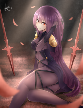 Scathach by Ashskie
